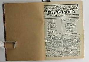 """Der Bergfried,Familien-Beilage des """"Arbeiter"""" für Geist und Gemüt; (Jahrgang ..."""