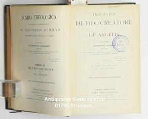 Summa theologica VI,ad modum commentarii in Aquinatis summam praesentis aevi studiis aptatam: ...