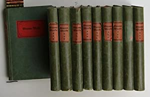 Sämtliche Werke Band 1-10 komplett,Eingeleitet und herausgegeben von Paul Wiegler: Storm, ...