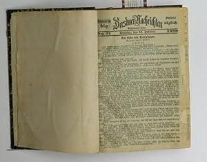 Belletristische Beilage Dresdner Nachrichten,No. 21. 1900. bis 160. 1900,: Elster, D.