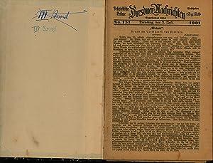 Belletristische Beilage Dresdner Nachrichten,No. 151 von bis 297 von 1901: Freiin von Spättgen, ...