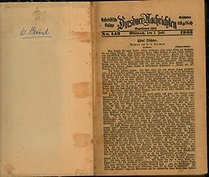 Belletristische Beilage Dresdner Nachrichten,No. 149. 1903. - 1904,: von Dornau, C.
