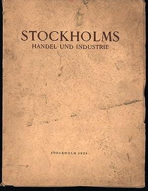 Stockholms Handel und Industrie,,mit zahlreichen Abbildungen: Forsmark, Linus u.a.