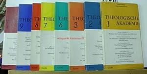 Theologische Akademie - 11 Bände (Band 1-3 und 6-13). ,Seitenzahl jeweils ca 110.: Rahner, ...
