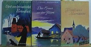 Konvolut 3 Bücher: Das unheimliche Paradies; Das: Plesel; Braumann; Schulte
