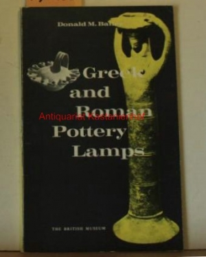 Greek and Roman Pottery Lamps. With 16: Bailey, Donald M.