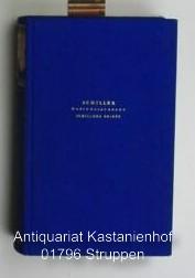 Schillers Werke. Nationalausgabe. Begründet von Julius Petersen. ,28. Band. Schillers Briefe 1795 -...