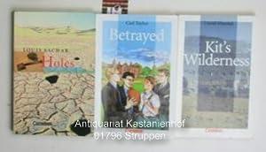 Konvolut 3 Englische Bücher. 1. Holes. Herausgegeben: Sachar, Louis/Taylor, Carl/Almond,