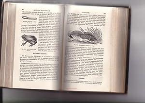 Histoire Naturelle,mit zahlr. Holzstichen: Langlebert, J.