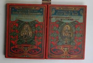 Konvolut zwei Bücher - Gesammelte Werke,1. Dichtungen eines rheinischen Poeten; 2.Ernst Moritz ...