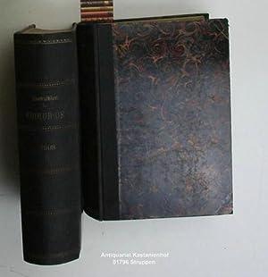 Konvolut 2 Bände Zentralblatt für Chirurgie. 36. Jahrgang 1909 komplett.,1. 36. Jahrgang Nr. 1-26. ...