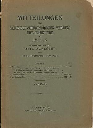 Mitteilungen des Sächsisch-Thüringischen Vereins für Erdkunde zu Halle a. S. .,...