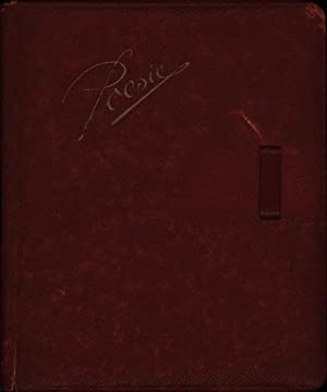 Poesiealbum mit Einträgen von 1937 und 1938 von einem Mädchen aus Hoym. Von Hand beschrieben.,: ...