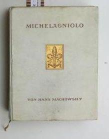 Michelagniolo,Mit 61 Heliogravuren, Vollbildern in Tonätzung und Faksimiles.: Mackowsky, Hans