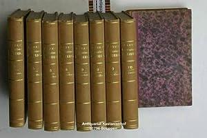 Konvolut 9 Bände Damen Conversations-Lexicon. Band 1, 2, 4, 5, 6 ,7, 8, 9, 10.,Band 3 fehlt. ...