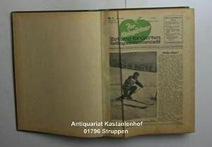 Gebunden: Der Kleingärtner Ausgabe: Magdeburg/Halle 1956. 8. Jahrgang Nr. 1 bis 24.; 1957...