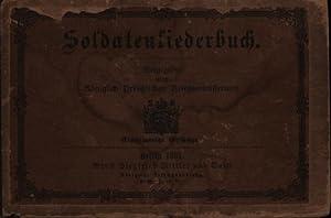 Soldatenliederbuch,,ausgegeben vom Königlich Preußischen Kriegsministerium, einstimmige Gesänge