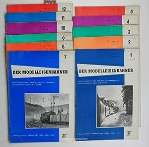 Konvolut 11 Hefte - Der Modelleisenbahner - Fachzeitschrift für den Modelleisenbahnbau und ...