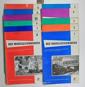 Konvolut 11 Hefte - Der Modelleisenbahner - Fachzeitschrift für den Modelleisenbahnbau und alle ...