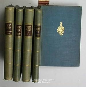 Konvolut fünf Bücher: Sämtliche Werke (ohne Band 4),1. Erster Teil des ersten Bandes...