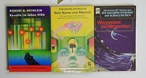 Konvolut 20 Science-Fiction-Bücher. 1. Revolte im Jahre 2100.,Utopisch-technische Erzählungen. 2. ...