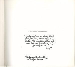 Retrospektive. Otto Modersohn Museum 13.10 - 1.12.1996. Mit Widmung und Signatur von Christian ...