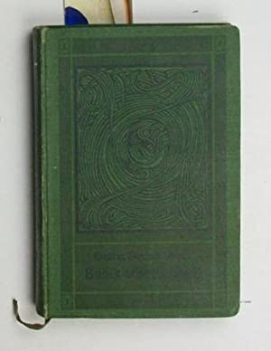 Bubi's erste Kindheit. Ein Tagebuch über die geistige Entwicklung eines Knaben,während der ...