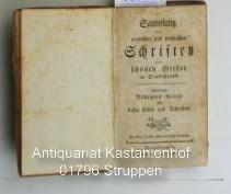 Sammlung der poetischen und prosaischen Schriften der schönen Geister in Deutschland, ,enthaltend ...