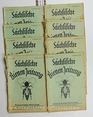Konvolut 8 Hefte Sächsische Bienen-Zeitung. 54. Jahrgang.,Nr. 2; 4 bis 7; 9 bis 11. ...