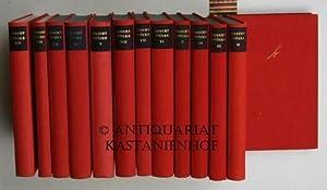 Konvolut 13 von 14 Bänden Bertolt Brecht Stücke.,Band I bis VIII und X bis XIV. Es fehlt Band IX.: ...