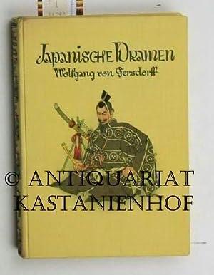 Japanische Dramen. Für die deutsche Bühne bearbeitet: Gersdorff, Wolfgang von