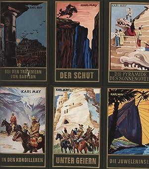 Konvolut 13 Reiseerzählungen aus Karl May's Gesammelte Werke.,1. Band 3. Von Bagdad nach ...