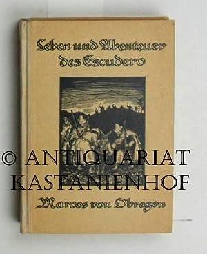 Leben und Abenteuer des Escudero Marcos von Obregon,Übersetzt von Ludwig Tieck 1827, ...