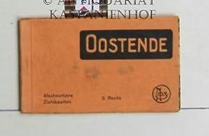 Oostende. Afscheurbare Zichtkaarten. 3. Reeks.,Souveniralbum mit 10 Foto-Postkarten.: Diverse