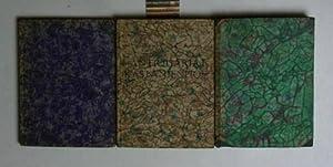 Konvolut 3 Bände Schillers Welt- und Lebensanschauung.,in Aussprüchen aus seinen Werken und Briefen...