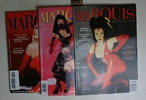 Konvolut 3 Marquis Fetisch Magazine. Nr. 7; 14; 29.,: Czernich, Peter W.