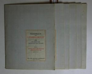 Konvolut 6 Hefte Handbuch und Lehrkursus für die Kunst des Zeichnens und Malens.,Band I Grundlagen ...