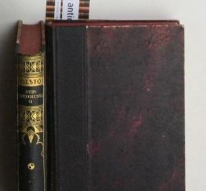 Konvolut 2 Bände Auferstehung. Roman in drei Teilen. Band I und II. komplett,Übersetzt von Harald ...
