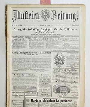 Illustrierte Zeitung. Nr. 2249. 87. Band. 7. August 1886.: Diverse