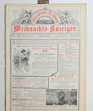 Illustrierte Zeitung. Weihnachts-Anzeiger. Nr. 2266. 87. Band. 4. December 1886.,: Diverse
