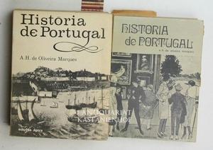 Konvolut 2 Bände Historia de Portugal. Volume I und II. Portugiesisch.,1. Das origens as revolucoes...