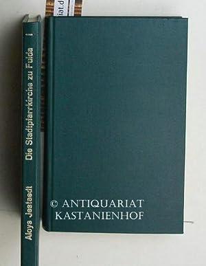Konvolut 2 Bände Die Baugeschichte der Stadtpfarrkirche zu Fulda 1767 - 1792.,I. und II. Teil....