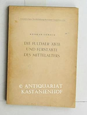 Die Fuldaer Äbte und Fürstäbte des Mittelalters. Ein geschichtlicher Überblick....