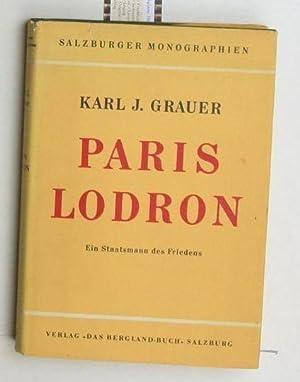 Paris Lodron,Erzbischof von Salzburg. Ein Staatsmann des Friedens: Grauer, Karl-Johannes