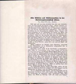 Ein Mühlenbuch,Von Mühlen und Müllern im Arbeitsgebiet des ,Gebirgsvereins für die Sächsische ...