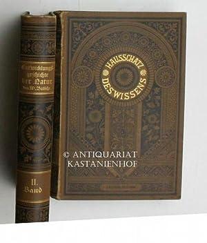 Entwickelungsgeschichte der Natur, zwei (2) Bände,,Hausschatz des Wissens, gegen 1000 Abbildungen ...