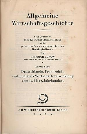 Allgemeine Wirtschaftsgeschichte,Eine Übersicht über die Wirtschaftsentwicklung von der ...