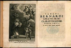 Konvolut zwei Bücher:,Sancti Bernardi Abbatis Primi Clarae-Vallensis: Bernardus, Claraevallensis