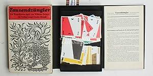 Tausendzüngler,Ein Wort-Karten-Spiel: Deinert, Wilhelm