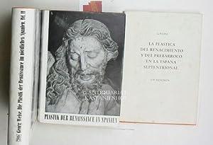 Die Plastik der Renaissance und des Frühbarock im nördlichen Spanien, zwei (2) Bände...